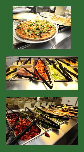 salad bar montage
